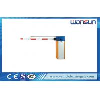Buy cheap RS485 Communication Interface Automated Barrier Gate for Car Parking System product