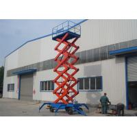 Buy cheap Movable and Self Propelled Hydraulic Scissor Lift Platform / Mobile Aerial Working Platform from wholesalers