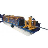 Buy cheap Single Side Adjustable Small C Purlin Roll Forming Machine With PLC Frequency Control System product