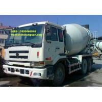 Buy cheap NISSAN UD Used Concrete Mixer Trucks 6 X 4 Driving Type Easy Operating product