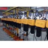 Buy cheap Professional Remote Control Electric Chain Block Hoist For Lifting Save Power from wholesalers