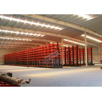 Buy cheap Q235B Steel Cantilever Storage Racks , Selectivity Heavy Duty Cantilever Racking from wholesalers