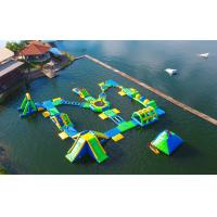 Buy cheap 0.9mm PVC Tarpaulin Adults  Inflatable Floating Water Park Games With TUV Certification product
