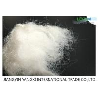 Buy cheap Semi Dull Non Woven Polyester Fiber 6D For Soft Touch Exhibition / Home Carpet product