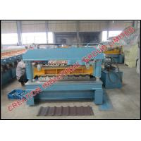 Buy cheap IT6 Roof Panel Roll Forming Machine for Steel and Aluminium Roof Sheets product