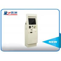 Buy cheap 22 inch electronic Windows self service kiosk terminal with bill acceptor product
