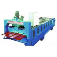 Single Layer R Panel Metal Roof Roll Forming Machine 10 Rows Box Profile