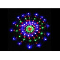Buy cheap Multicolor Spider Web String Lights 8 Modes 1.2m Plug And Play 220 Volt Power product