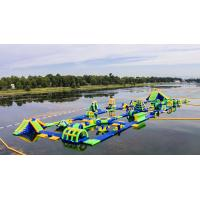Buy cheap Inflatable Floating Water Sports Theme Park / Water Splash Park Installed In Milano product