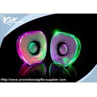 Buy cheap Apple shape small portable light USB Mini Speakers with volume control product