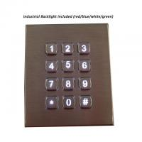 Buy cheap 12 Keys Waterproof IP67 Stainless Steel Keypad product