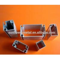 China Aircraft aluminum extrusions in China, High grade silver anodized 6061 T6 aluminium profiles for tent poles on sale