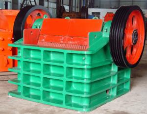 Buy cheap 320 mpa Jaw Crusher Automatic Concrete Block Making Machine product
