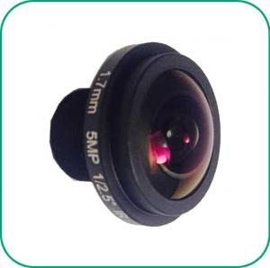 Buy cheap Board Lens 5MP Starlight Camera Lens IP CCTV Camera Focal Length 1.7mm product