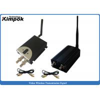 Buy cheap 10km LOS UAV Analogue Wireless Video Transmitter 2000mW Video Sender 8 Channels from wholesalers