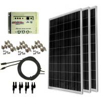 Buy cheap 100 watt solar panel kit Solar Power Backup Generator For emergency electricity product