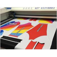 Buy cheap Sublimation Sportwear Laser Cloth Cutting Machine Precision Cutting Without Hair Brim product