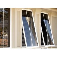 Buy cheap Heat Resistant Custom Aluminium Windows Aluminium Glass Awning Top Hung Window product