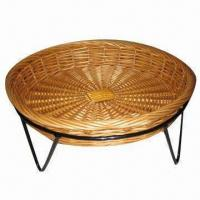 Buy cheap Bread basket, made of willow, round shape, wicker storage basket, eco-friendly product