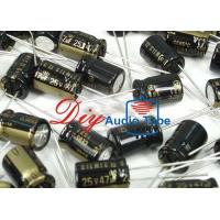 Buy cheap SILMICII 25V 47UF Electrolytic Capacitor , HIFI DIY Aluminum Electrolytic Capacitors product