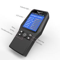 Buy cheap Multi Testers Indoor Air Quality Detector Accurate Testing Formaldehyde(HCHO) Monitor with TEMP/HUM/AQI/TVOC Test Japan product