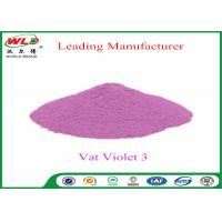 Quality Customized Wool Permanent Fabric Dye C I Vat Violet 3 Vat Violet RRN for sale