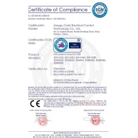 Jiangsu Gold Electrical Control Technology Co., Ltd. Certifications