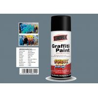 Buy cheap Grey Color Graffiti Wall Painting Easy Construction Operation Drying Quickly product