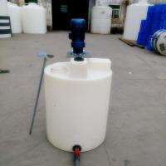 MC300 Roto molded Custom Durable Polyethylene Chemical storage tanks with motor and pump