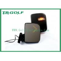 ABS Adjustable Golf Cart Mirrors With Turn Signals No Vibration For EZGO Car