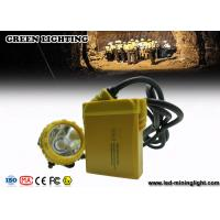 Buy cheap IP68 25000 Lux Mining Cap Lights Miners Headlamp Environmental - Friendly product