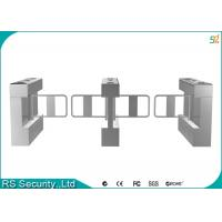 Buy cheap Intelligent Swing Barrier Gate Intrusion Tailgating Alarm Turnstiles product