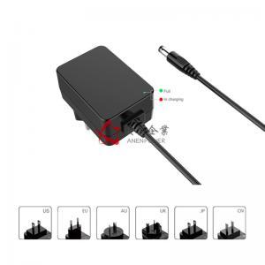 Buy cheap 24W Max Battery Charger 8.4V, 12.6V, 16.8V, 21V, 25.2V 2 Bay 18650 Battery Charger product