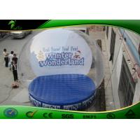 Buy cheap PVC Snow Globe Transparent Inflatable Human Ball For Christmas Decoration product