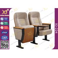 Buy cheap Fixing Leg Damper Return Auditorium Auditorium Chairs , Movie Theatre Chairs product