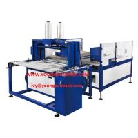 Buy cheap CORRUGATED BUNDLE SQUARING +STRAPPING MACHINE Bundle turner for corrugated carton from wholesalers