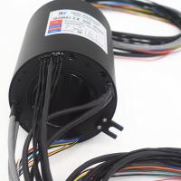 Buy cheap Gigabit Ethernet 300rpm 70mm Hollow Shaft Rotary Joint product