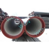 Buy cheap Pipeline Potable Cement Mortar Lining Pipe Centrifugal Cast 5.7M / 6M Length product