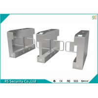 Buy cheap Stainless Steel Turnstile Security Systems Mess Hall Barrier Swing Turnstiles product