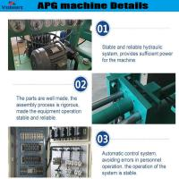 Buy cheap high efficiency apg epoxy resin clamping machine for high current bushings product