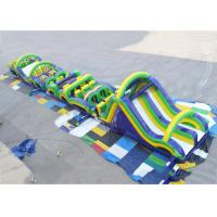 Buy cheap Radical Run Extreme Obstacle Course, Inflatable Slide Run Obstacle Course from wholesalers