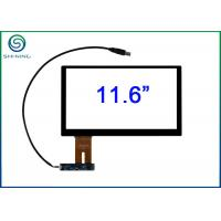 Buy cheap G + G Capacitive Touchscreen Panel For Testing Machines , 10 Touch Point product