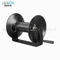 China 100 ft. garden service truck cable reel easy to install Light Industrial Hand Crank Hose Reel on sale