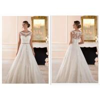 Quality Luxury Long Train A Line Style Wedding Dresses For Bridal Fashionable for sale