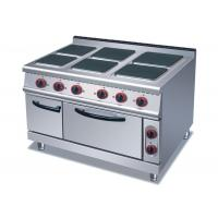 Buy cheap 4 Or 6 Plates Electric Range Cookers Round / Square Freestanding Electric Cooker product