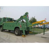 Buy cheap 8 ton medium duty integrated tow truck road recovery wrecker product