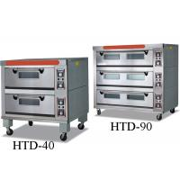 Buy cheap Bakeries Commercial Electric Gas Deck Oven With Steam / 2 - 9 Trays product