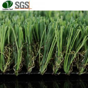 Buy cheap Pet Dog Indoor Grass Mat / artificial turf fake grass tiles PP PE Material product