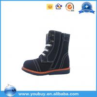 Quality Kids Orthopedic Winter Snow Boots With Fur/China Safety Shoe Manufacturer for sale