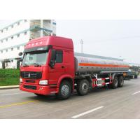 Buy cheap 12 Wheels Sinotruk HOWO Oil Tanker Truck 30CBM Big Capacity 371HP Engine product